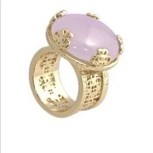 Kendra Scott Tyra Ring in Lilac